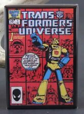 Transformers Universe #1 Comic Book - Fridge Magnet. Autobots Decepticons