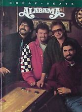 ALABAMA - CHEAP SEATS  - 52 PAGE SONGBOOK - 1993
