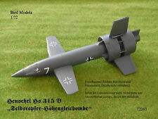 Henschel Hs 315 B SO-Höhengleitbombe  1/72 Bird Models Resinbausatz / resin kit