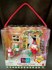 Disneys Winnie the Pooh Friendly Places Collectible Friends Holiday Edition New