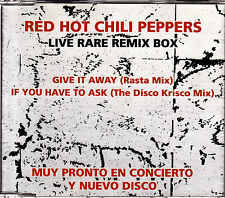 CD SINGLE promo RED HOT CHILI PEPPERS give it away SPANISH rare 2-tracks 1994
