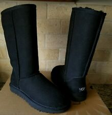 UGG Classic Tall Boots Suede/Sheepskin US 8 Womens 5815 New!!