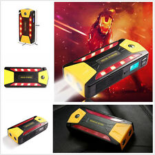 Portable 12V 82800mAh SOS LED Car Jump Starter Jumper Booster Battery Power Bank
