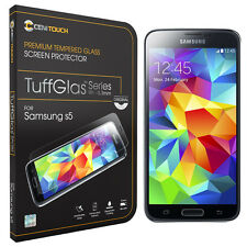 CENITOUCH® Original Tempered Glass Screen Protector Film for Samsung Galaxy S5