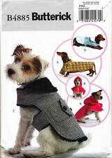 BUTTERICK SEWING PATTERN 4885 DOG COATS IN FOUR SIZES XS-L & FOUR STYLES