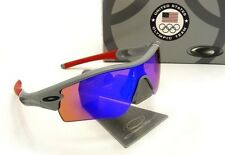 NEW Oakley - TEAM USA Radar Path - Sunglasses, Grey / Blue Iridium, 24-301