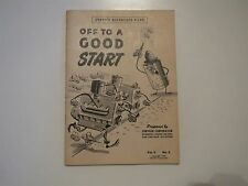 1948 DODGE PLYMOUTH DESOTO CHRYSLER OFF TO A GOOD START REFERENCE MANUAL V2 No2
