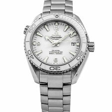 Omega Planet Ocean 600 M Steel White Bezel 42mm Ladies Watch 232.30.42.21.04.001