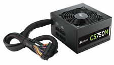 CORSAIR CSM SERIES CS750M 750W 80 PLUS GOLD CERTIFIED MODULAR POWER SUPPLY PSU