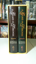 ~Signed Subterranean Press~ A Game of Thrones 1 by George R. R. Martin