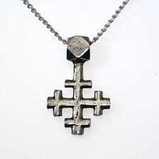 New Pewter Nordic Crossle Viking Cross Amulet Pendant Necklace Purity Spirituali