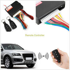 Auto Car Remote Control Central Kit Door Lock Locking Keyless Entry System & key