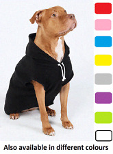 LARGE DOG HOODIE: Staffy Hoodie / Pitbull Hoodie / Bull Breed Hoodie