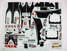 1/10 F1 Mclaren 1998 99 mp4/13 14 Mika hakkinen Deca for Tamiya F103 F104W