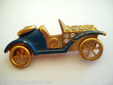 BROCHE ANCIENNE VINTAGE VOITURE RETRO CITROEN CABRIOLET * Collection Privée *