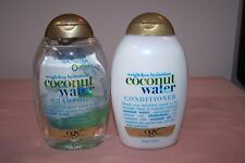 Organix Coconut Water Weightless Hydration Shampoo & Conditioner NEW 13 oz/385ml