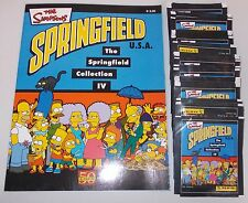 "Panini ""The Simpsons-Springfield"" sticker álbum incl. 70 bolsas"