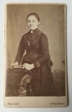Victorian Carte De Visite CDV Photo - Beales - Spalding - Lady