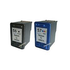 Ink Cartridge For HP 56 C6656A + HP 57 C6657A Printer