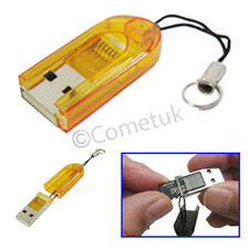 Memory Card Reader Stick To USB 2.0 Mini Adapter For PC Laptop Digital Camera UK