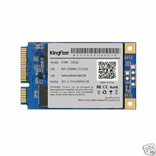 F6M mSATA mini PCIe 32GB Kingfast SSD For Dell M4500 Lenovo Y460 Y560 intel