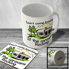 MAC_OUT_014 Don't come knocking If the caravans Rocking - Mug and Coaster set