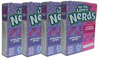 4 x Formally Wonka For The Love Of Grape And Strawberry Nerds 46.7g Sweets