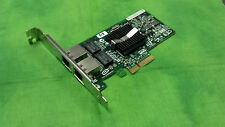 HP NC360T Dual Port PCI-e Gigabit Network Adapter 412651-001 HIGH Profile ONLY