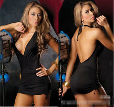 FY26 Woman lingerie sexy V-neck halter sleepwear club clothing Tight SEX TOY