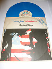 "PATRICK JUVET - I Love America - 1978 UK limited edition BLUE vinyl 12"" single"
