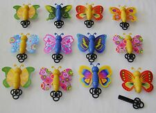 NEW 12 FLYING BUTTERFLY TOYS KEY SPRING BUTTERFLIES PARTY LOOT BAG FILLERS HB
