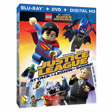 LEGO DC Super Heroes: Justice League- Attack of the Legion of Doom!(Blu-Ray/DVD)
