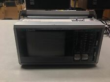 """Vintage Emerson PC 5A AM FM Radio and 5.5"""" Portable Television TV"""