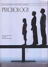 Pearson Custom Library Psychology New Mexico State Univ Adolescence - Old Age