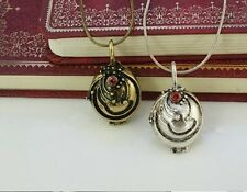 Vampire Diaries Elena Gilbert Original Witch Necklace Antique Silver