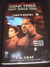 Star Trek Deep Space Nine Time's Enemy Invasion! #3 by L. A. Graf 1996 1st Print