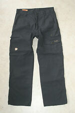 Fjallraven G-1000 Iceland Mens Pants Size 46 Black