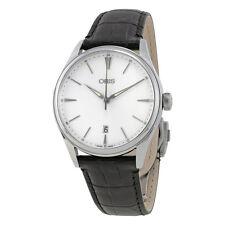 Oris Artelier Date Silver Dial Mens Watch 01 733 7721 4051-07 5 21 64FC