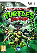 Teenage Mutant Ninja Turtles: Smash-Up Nintendo Wii PAL COMPLETO