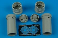 Aires 1/72 F-4B/F-4C/F-4D/F-4N Phantom II exhaust nozzles for Fujimi kit # 7241