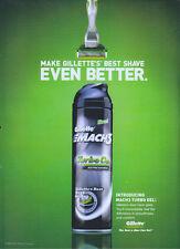 Gillette Mach 3 Turbo Gel 2004 Magazine Advert #1403