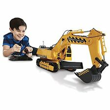 Kid Galaxy Mega Construction Remote Control Excavator Bulldozer. 10 Function RC