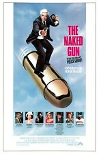 The Naked Gun movie poster print : 11 x 17 inches : Leslie Nielsen poster