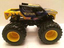 Hot Wheel Monster Jam Monster truck 1:64 scale plastic base Wolverine