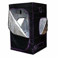 """Apollo Horticulture 48""""x48""""x80"""" Mylar Hydroponic Tent for Indoor Plant Growing"""
