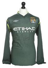 Joe Hart Signed Manchester City Goalkeeper Champions Shirt Autograph Jersey COA