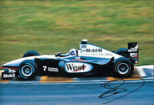 David Coulthard SIGNED 12x8 McLaren-Mercedes MP4/17 ,  Brazilian GP 2002