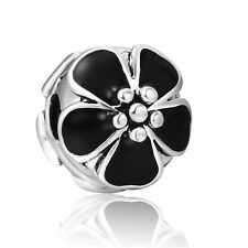 Best Gifts 925 Silver Clip Clasp Bead Flower Serie Fit European Charm Bracelets