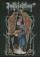 INQUISITION - Invoking The Majestic Throne Of Satan Patch Aufnäher 8,5x12cm