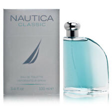 NAUTICA CLASSIC 3.3 / 3.4 oz 100 ml SPR MEN toilette edt COLOGNE PERFUME NIB BFA